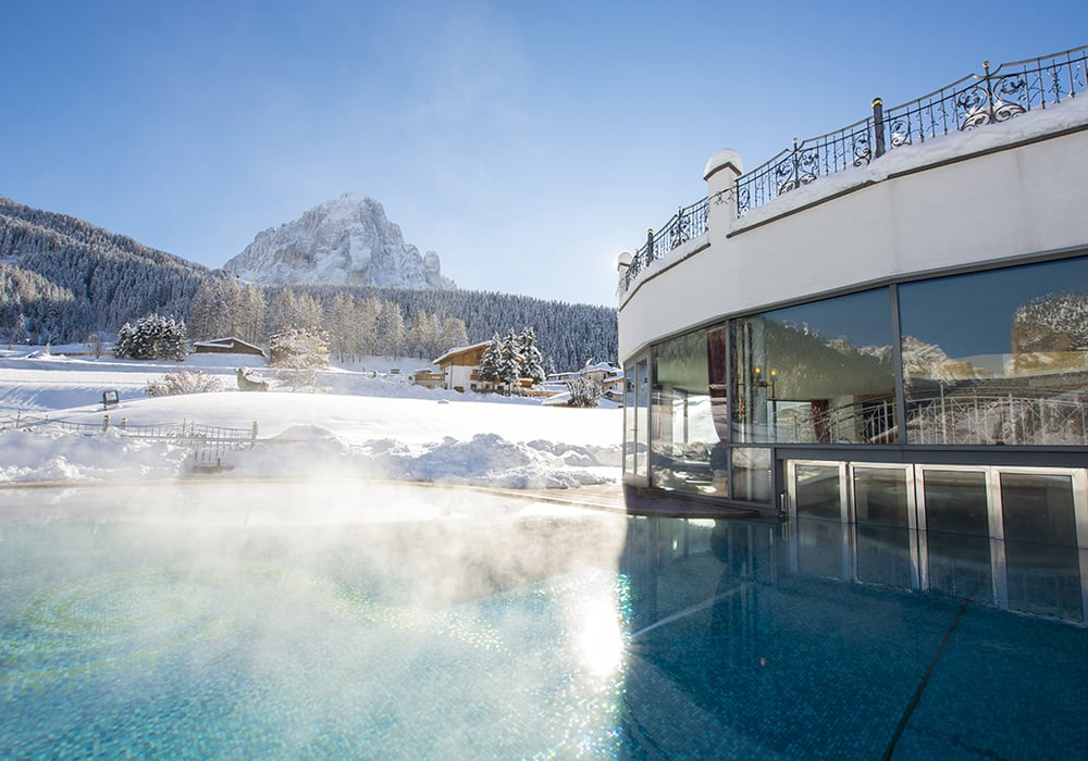 The most beautiful mountains in the world - Hotel in Selva - Val Gardena - Hotel Granvara