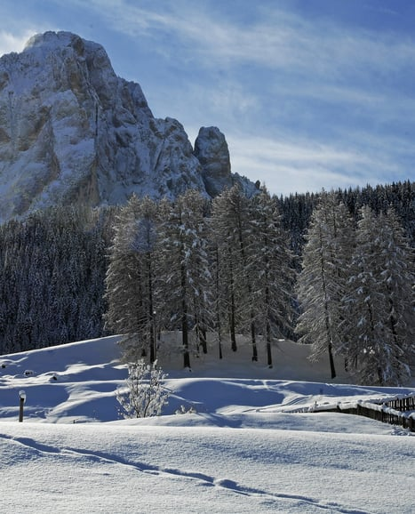 Magical views of the Dolomites